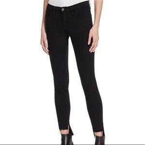 Frame Denim Le Skinny De Jeanne Raw Stagger Jeans